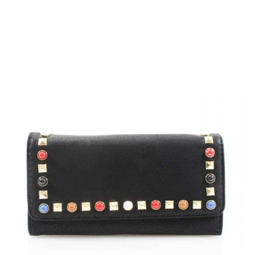 Ladies Designer Flap Coin Wallet Womens Purse Card Holder Pouch