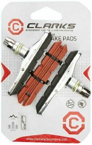 Clarks Mountain Bike V Brake Pads 70 mm 70 mm noir//rouge