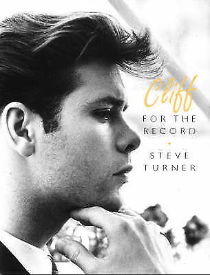 """""""AS NEW"""" Cliff: For the Record, Steve Turner, Book"""
