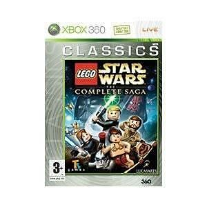 1 of 1 - LEGO Star Wars: The Complete Saga (Microsoft Xbox 360, 2007)