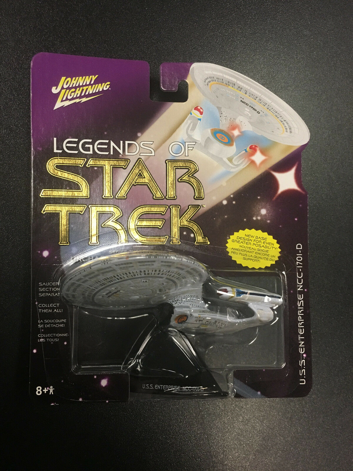 Johnny Lightning Legends of Star Trek Series 3 USS Enterprise NCC-1701-D