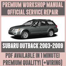 factory workshop service repair manual toyota prius 2003 2009 wiring rh ebay co uk 2005 subaru outback factory service manual 2013 subaru outback factory service manual