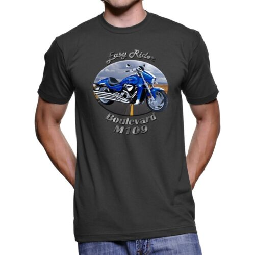 Suzuki Boulevard M109 Easy Rider Men`s Dark T-Shirt
