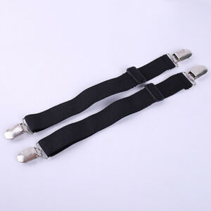 1//2Pairs Pant Clip Motorcycle bike Cyclist Leg Boot Strap Stirrups For Riding