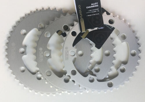 130mm 5 bolt 39T 40T OR 44T choice Single Speed Silver Chainring Cnc/'d 110mm