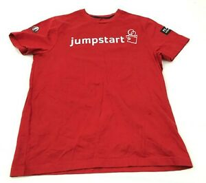Tommy-Hilfiger-Jumpstart-Shirt-Size-Small-Red-Short-Sleeve-Tee-Jstart-Foundation