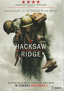 Promotional-Movie-Flyer-HACKSAW-RIDGE-2016-Mel-Gibson-Andrew-Garfield