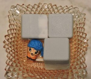 Details about Set 3 Small Soap Cubes/Embedded Squinkies Do Drops Toy-Party  Favor NEW, Handmade
