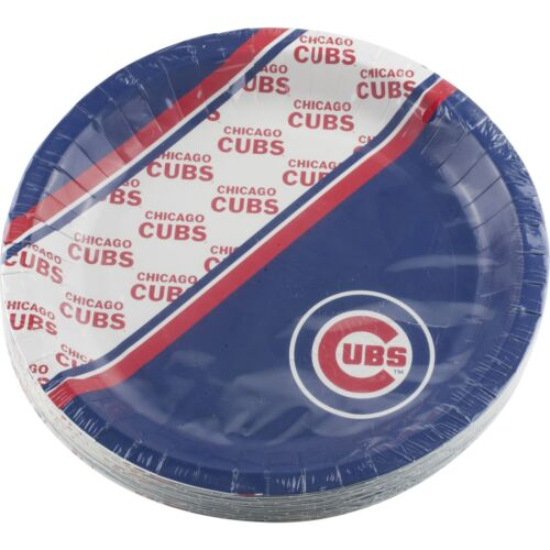 Chicago Cubs Birthday Party Supplies 20 Paper Plates 9.75 Tailgating Picnics