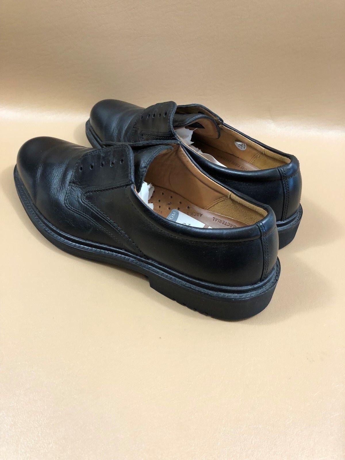 5aa3a68fe810 ... Gentleman Lady Gentleman Lady Gentleman Lady ECCO Black Leather Oxfords  Size 43 Consumer ...