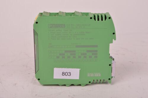 803 Phoenix Contact ELR W3-24DC//500AC-2l relais Wendeschütz Output42-550V