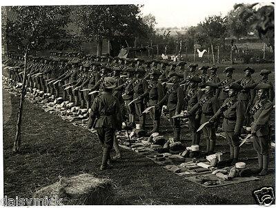 British Army Football Match Gurkhas v Signals 1915 World War 1 5x4 Inch Photo bl