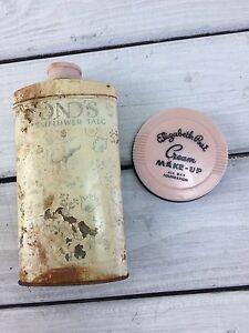 Vintage Vanity Cosmetics Powder Elizabeth Post Cream Makeup Ponds Dreamflower