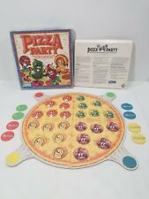 Pizza Party Parker Brothers RARE Board Game 1987 Memory Ages 4 to 8
