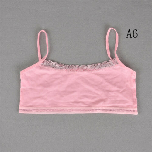 Teenage Underwear For Girls Cutton Lace Young Training Bra For Kids ClothingPVCA