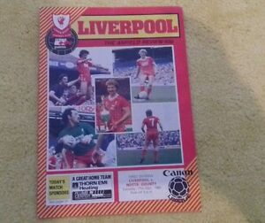 156 Liverpool v Notts County  division one 17121983 - Widnes, United Kingdom - 156 Liverpool v Notts County  division one 17121983 - Widnes, United Kingdom