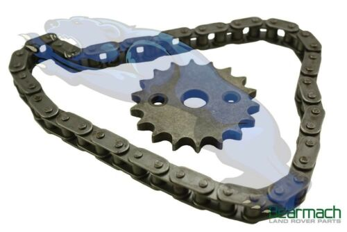 Land Rover Defender /& Discovery 2 TD5 Oil Pump Chain /& Sprocket Kit LQX100130R