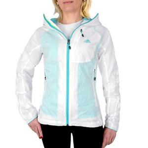 Details about Adidas Terrex 3S Womens Windbreaker Rain Wind Jacket Running Jacket Transparent Turquoise show original title