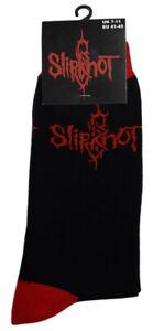 Slipknot Socks Classic Band Logo new Official Mens Black UK Size 7-11