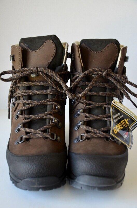 Hanwag Alaska Lady GTX Hiking Stiefel Größe: 4.5 Braun Lace Up Handmade Schuhe EU 36