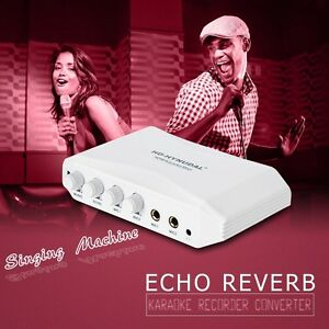 Details about HD-HYNUDAL Sing Karaoke Machine Mixer Converter Echo HDMI for  TV PC Mobile iPod