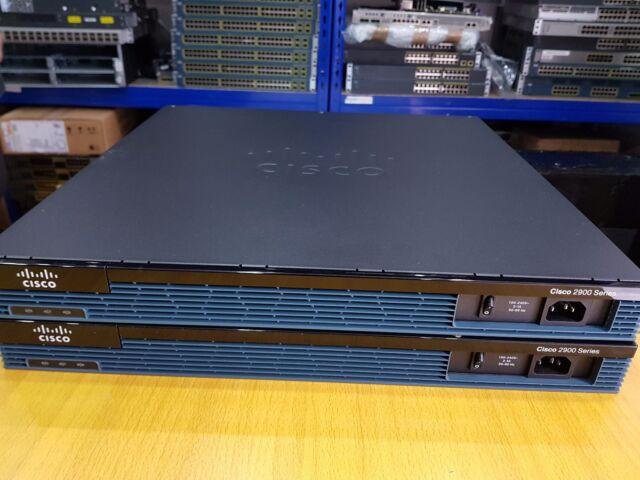 Cisco 2901-Sec/K9 Gigabit 2 ports Cisco 2901 Câblé Routeur Avec Livraison Express