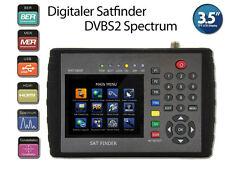 Profi Satfinder HW7186 DVB-S DVB-S2 HDTV Meter Neuheit Sat Messgerät