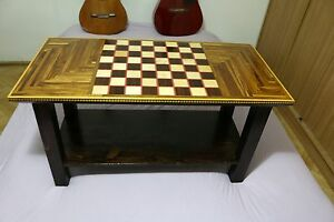 Brilliant Details About Coffee Table Chess Model Handmade Ncnpc Chair Design For Home Ncnpcorg