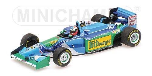 Minichamps F1 Benetton Ford B194 Johnny Herbert 1 43 Australian GP 1994