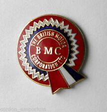 BMC BRITISH MOTOR CORPORATION LOGO AUTO CAR LAPEL PIN 1/2 INCH