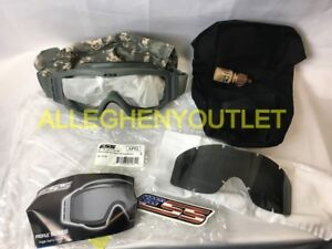 b90df68223 US Military ESS Tactical Goggles With Stealth Sleeve Model EP01BK1 ...