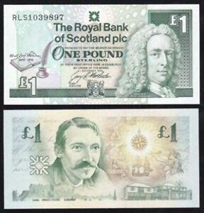 Scotland-1-Pound-Commemorative-3-December-1994-Robert-Stevenson-UNC-RLS1635628