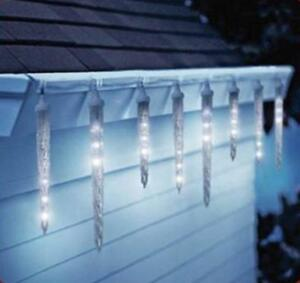 Dripping Icicle Lights Led Animated Christmas Outdoor