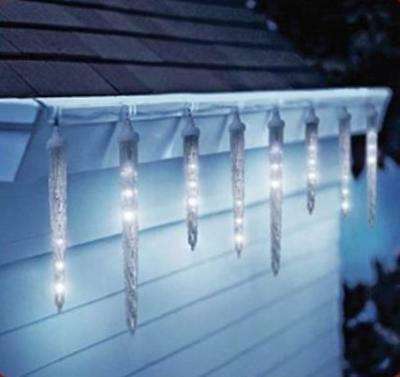 DRIPPING ICICLE LIGHTS LED ANIMATED Christmas Outdoor Decoration YARD DISPLAY