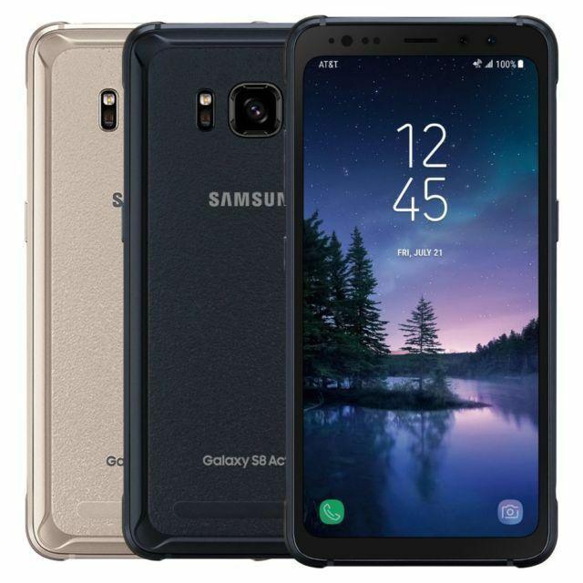 Samsung Galaxy S8 ACTIVE SM-G892A (AT&T Unlocked) G892 64GB Smartphone