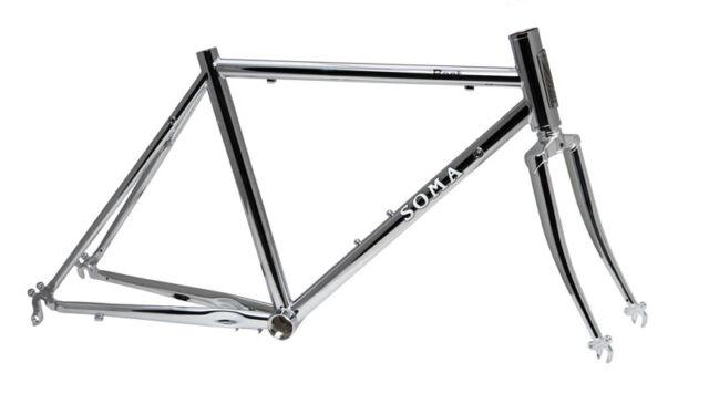 """Soma Bart Vélo Route Cadre Xx Taille S 20 """" de Roue Chromoly Acier Bienfaisance"""