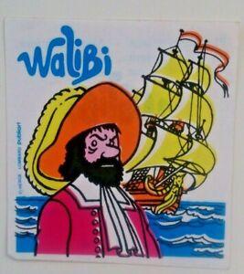 Hergé. François de Hadoque. Autocollant pub. pour Walibi