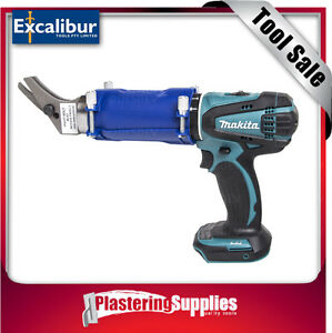 Excalibur-HYPER-Fibre-Cement-Shears-With-Shield-And-Makita-LXPH01-Drill-Package