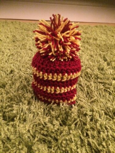 Harry Potter hogwarts Gryffindor quidditch supporter hat photo props costume