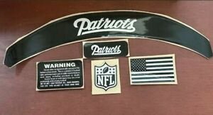 BLACK ICE OUT ASSORTED HELMET  NAMEPLATES