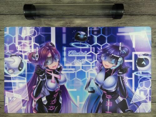 Yu-Gi-Oh! Backup Secretary Mat Trading Card Game Custom Playmat Free Best tube