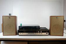 Sharp SG-155H Stereo Kassetten Plattenspieler Tuner Kombi Vintage mit Boxen