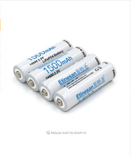 4pcs Etinesan 1500mAh  battery 3.2V LiFePO4 AA Rechargeable li-ion Battery