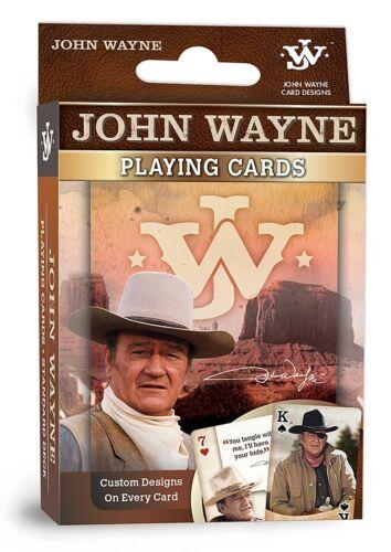 John Wayne JW  set of 52 playing cards mpc Jokers