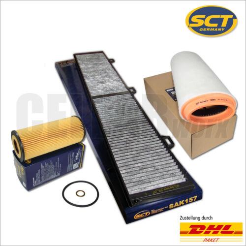 Bmw 1er e81 e87118d 120d122 PS 163 CV3 piezas Filtersetsct Germany