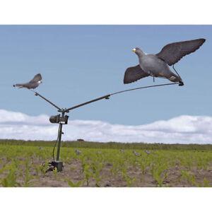 PIGEON-MAGNET-DECOY-Machine-Rotary-Hunting-Shooting-Bird-Trap-Clay