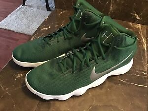 dbced5d28864 NIKE REACT HYPERDUNK 2017 TB Green White Basketball shoes  897808 ...