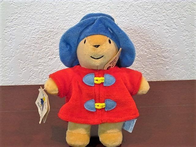 1970's PADDINGTON BEAR PLUSH FIGURE SAKS FIFTH AVENUE UNUSED w TAGS