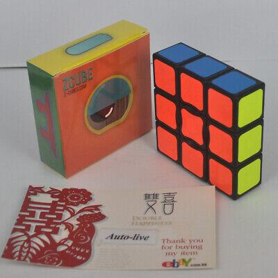 """Z01 Decompression 1X3X3  Magic Cube Size:5.7X5.7X1.9cm Black 2.2/""""X2.2/""""X0.7/"""""""