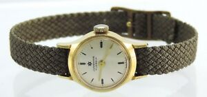 Junghans-17-Jewels-Armbanduhr-Damen-Handaufzug-Made-in-Germany
